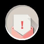 Fizetési felszólítás ikon